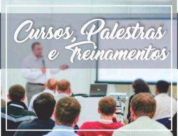 Cursos, Palestras e Treinamentos